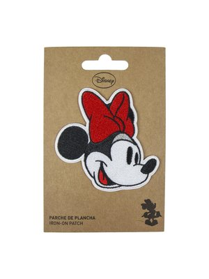 Disney Minnie Mouse Face Iron On Patch