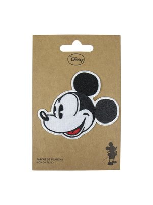 Disney Mickey Mouse Face Iron On Patch