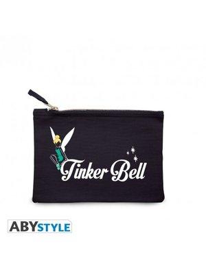 Disney Tinker Bell Make Up Bag Navy 22x16cm