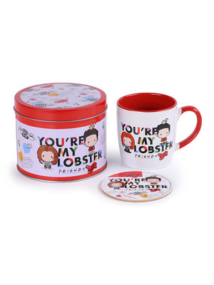 Friends You're My Lobster Metal Tin Gift Set Mug & Coaster