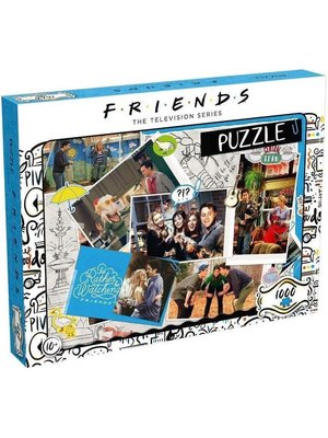 Friends Scrapbook Puzzle 1000pcs 68x48cm