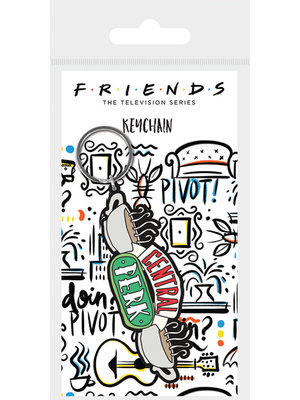 Friends Central Perk Rubber Keychain