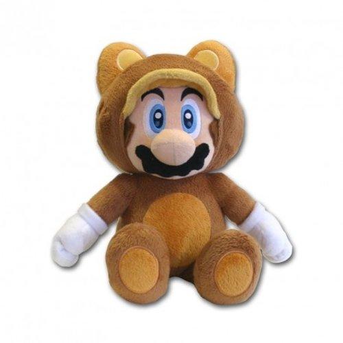 Nintendo Super Mario Tanooki Mini Pluche 21cm