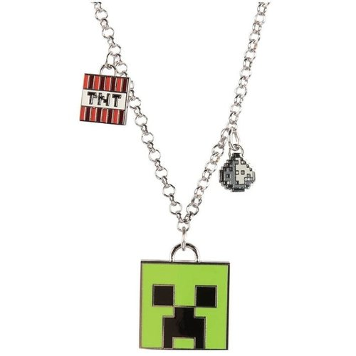 Minecraft Enchanted Creeper Necklace