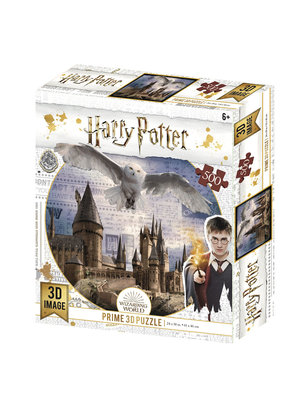 Harry Potter Flying Over Lenticular Puzzle 3D 500pcs 61x46