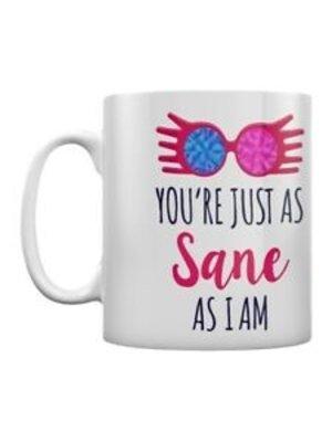 Harry Potter Just As Sane As I Am Mug