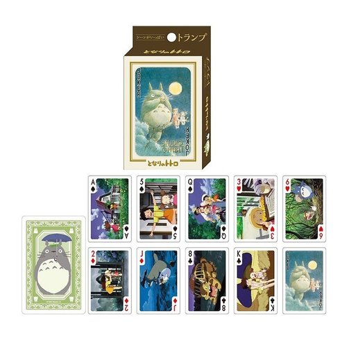Studio Ghibli Totoro Playing Cards (54 cards)