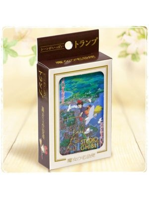 Studio Ghibli Kiki's Delivery Service Playing Cards (54 cards)
