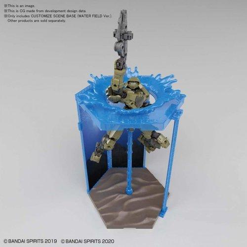 Bandai Gundam Customize Scene Base (Water Field Version) 05