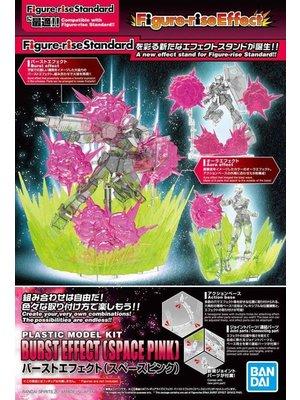 Bandai Gundam Figure Rise Effect Burst Effect Space Pink Model Kit