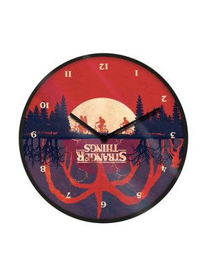 Stranger Things Upside Down Wandklok 25cm Diameter