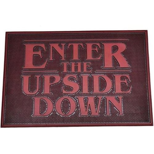 Stranger Things Enter the Upside Down Rubber Doormat 40x60