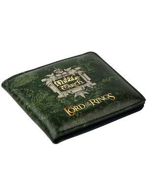 Lord of the Rings Middle Earth Vinyl Wallet