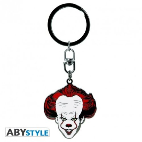 IT Pennywise Metal Keychain