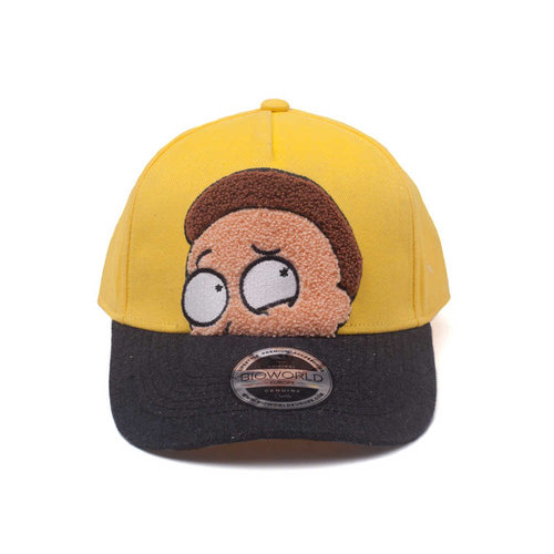 Rick and Morty Morty Chenille Flat Embroidery Curved Bill Cap