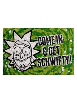 Rick and Morty Come in and Get Schwifty Doormat 60x40 PVC met Kokosvezels