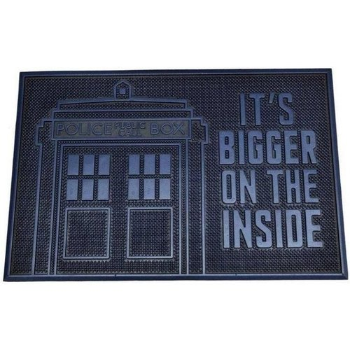 Doctor Who Tardig Bigger on the Inside Rubber Doormat 40x60