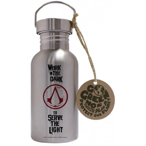 Assassins Creed Logo Aluminium Drink Bottle 500ml