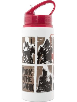 Assassins Creed Stencil Aluminium Drink Bottle 700ml