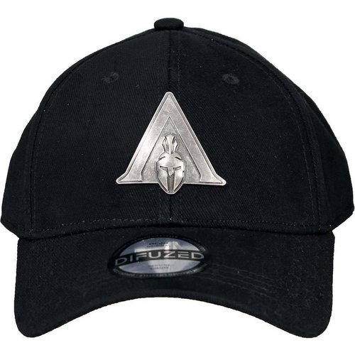 Assassins Creed Odyssey Metal Badge Logo Curved Cap