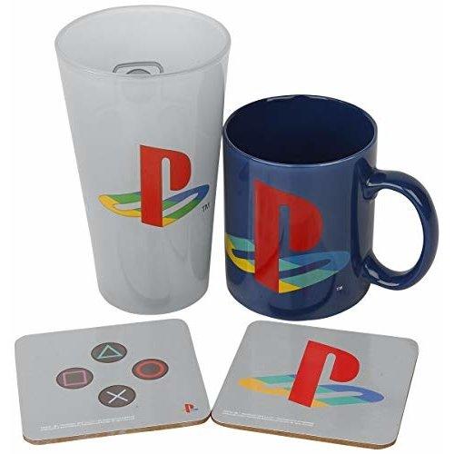 Playstation Classic Gift Box Mug / Glass / 2 Coasters
