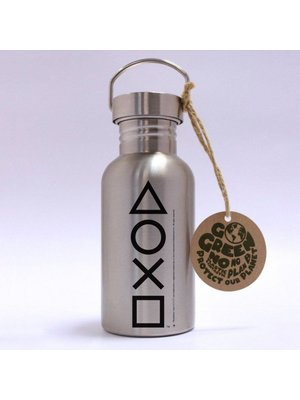 Playstation Buttons Aluminium Drink Bottle 500ml
