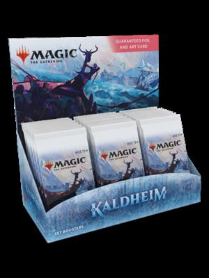 Wizards of The Coast Magic MTG Kaldheim Set Booster TCG