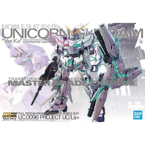 Bandai RX-0 Unicorn Gundam Ver.Ka MGEX 1/100 Model Kit