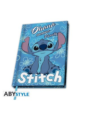 Disney Stitch Ohana Means Family Notebook A5