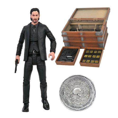 John Wick Deluxe Action Figure Box Set 7inch Diamond Select Toys