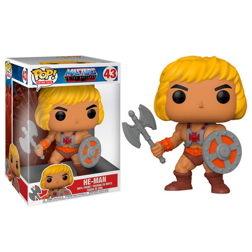 Funko Funko POP! HE-MAN 10Inch 43 Masters of The Universe MOTU