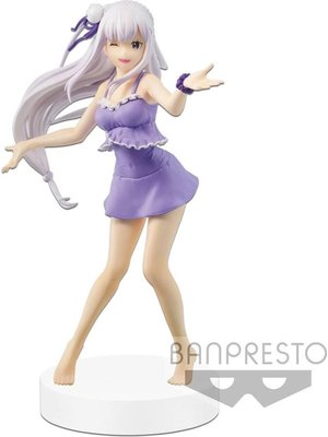 Re:Zero Starting Life in Another World Emilia EXQ Figure 20cm