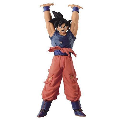 Dragon Ball Z Give Me Energy S.Goku Figurine Scultures 19cm