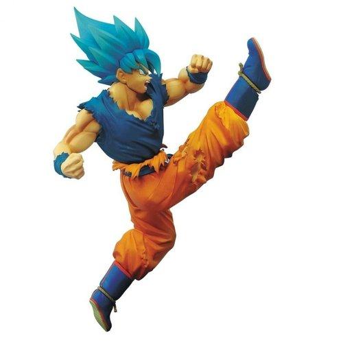 Dragon Ball Super SS God SS Son Goku Battle Figure 16cm