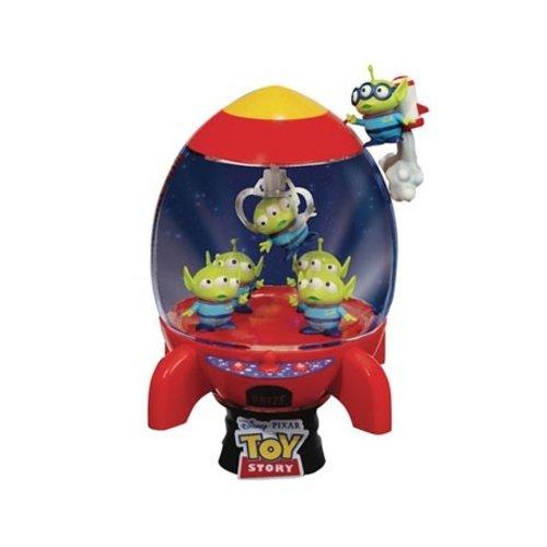 Disney Diorama Toy Story 4 Aliens Rocket Deluxe 15cm D-Stage PVC Figure