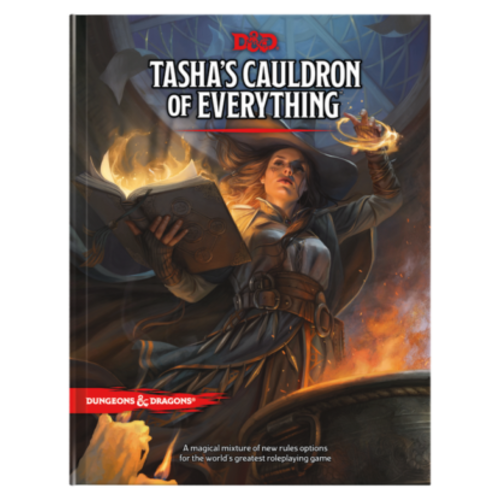 Dungeons & Dragons Tasha's Cauldron of Evereything Book D&D