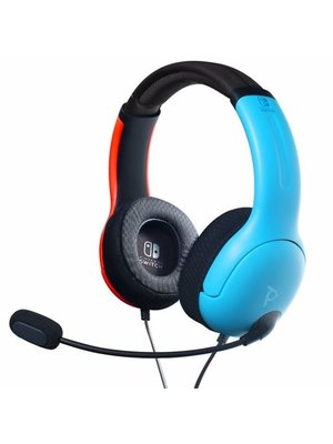 Hori LVL40 Wired Stereo Headset - Blue/Red (Nintendo Switch)