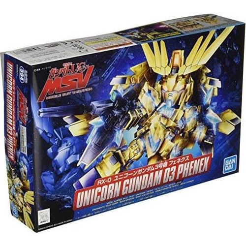 Gundam SD BB394 Senshi RX-0 Unicorn 03 Phenex Model Kit
