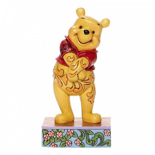Disney Traditions Disney Traditions Beloved Bear Winnie the Pooh Personality Pose Figurine