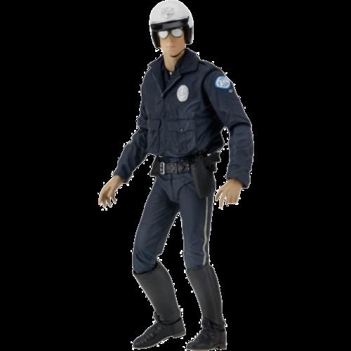 Terminator 2 Ultimate T-1000 Motorcycle Cop 7 Inch Figure Neca