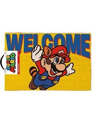 Super Mario Welcome Doormat 60x40 PVC met Kokosvezels