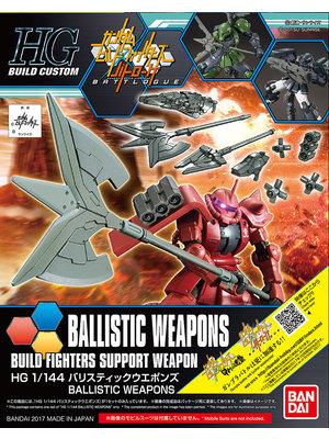 Bandai Gundam HGBC Ballistic Weapons Support Weapons Model Kit