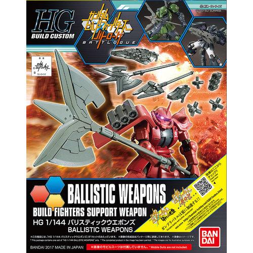 Gundam HGBC Ballistic Weapons Support Weapons Model Kit