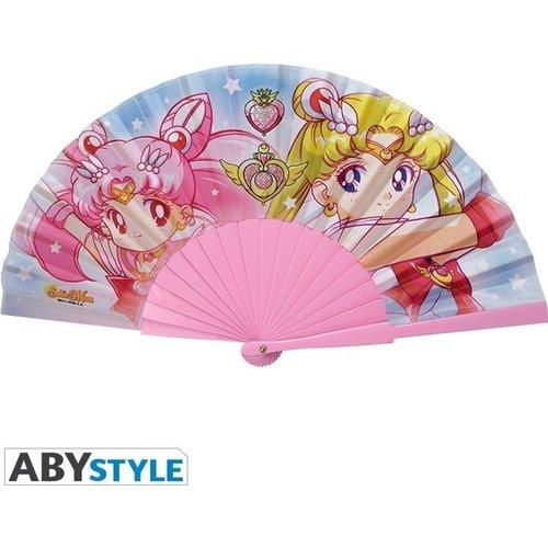 Sailor Moon & Chibi Moon Fan (Waaier)