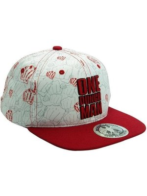 One Punch Man Fists Snapback Cap