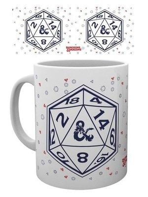 Dungeons & Dragons D20 Mug 315ml D&D