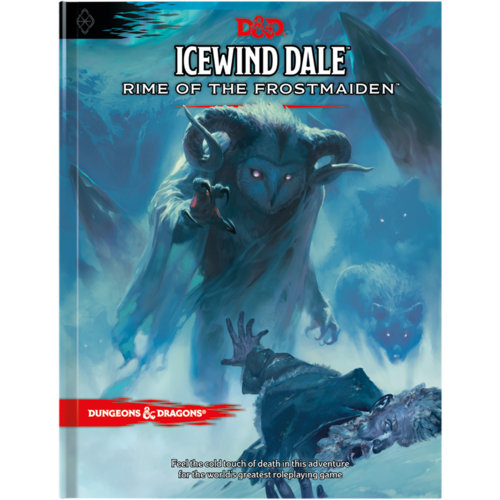 Dungeons And Dragons Icewind Dale Rime of the Frostmaiden Book D&D