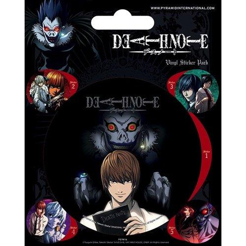 Deathnote Vinyl Sticker Pack
