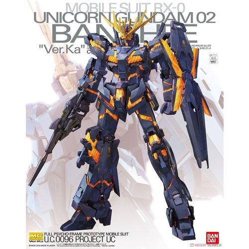 Bandai Gundam MG 1/100 Unicorn Gundam 02 Banshee Ver. KA Model Kit