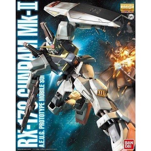 Bandai Gundam MG 1/100 RX-178 MK-II Ver.2.0 A.E.U.G. Model Kit 18cm